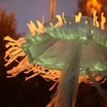 Giant Illuminated Jellyfish - 2013